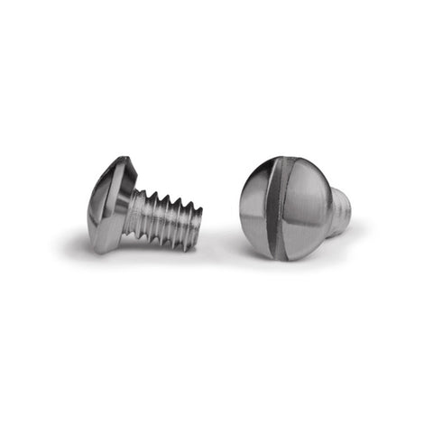 Nickel 1/4 Inch Wallplate Screws - 10 Pack