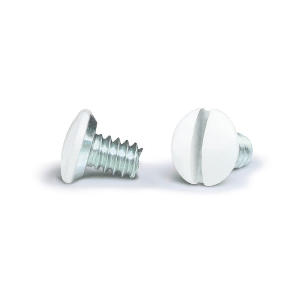 White 1/4 Inch Wallplate Screws - 10 Pack - Wallplate Warehouse