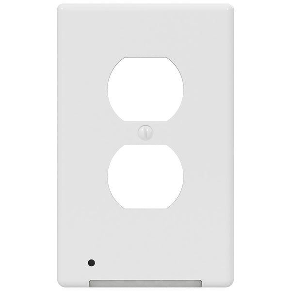 LumiCover LED Night Light - Duplex - White