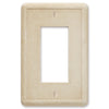 Travertine Tumbled Cast Stone - 1 Rocker Wallplate