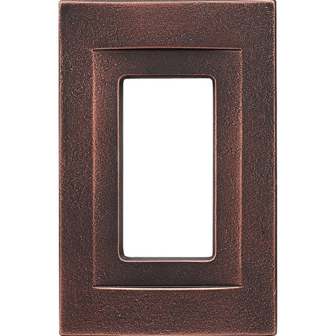 Oil Rubbed Bronze Cast Metal Magnetic - 1 Rocker Wallplate
