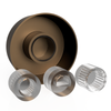 Satin Nickel Cast - Dimmer Knob