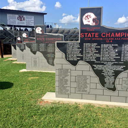 State Championship markers