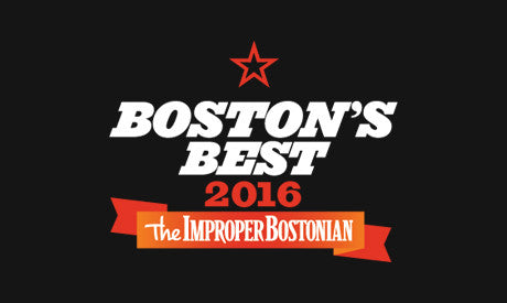 Crush Named Boston's Best by the Improper Bostonian