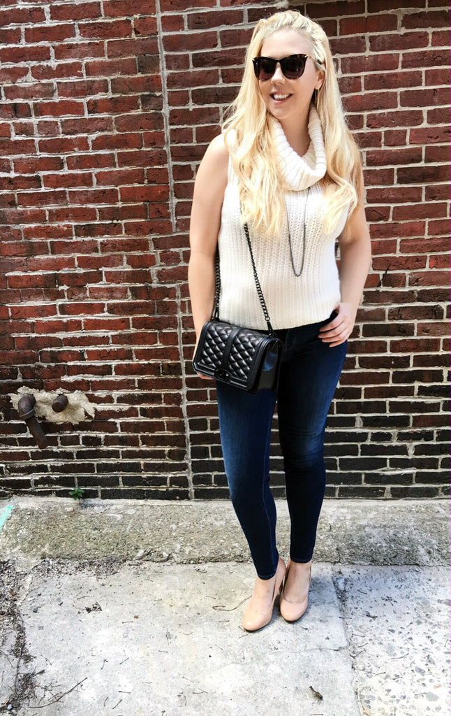 5 Fall Trends To Wear Now, Ella Moss, Sleeveless Sweater, Boston, Maria J Brand,