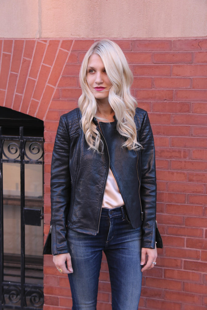 Black Leather Jacket, 5 Fall Trends To Wear Now, Cupcakes & Cashmere
