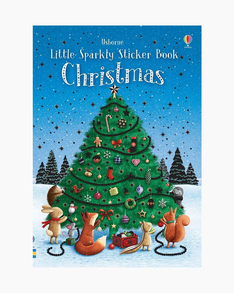 Usborne Little Sparkly Christmas Sticker Book