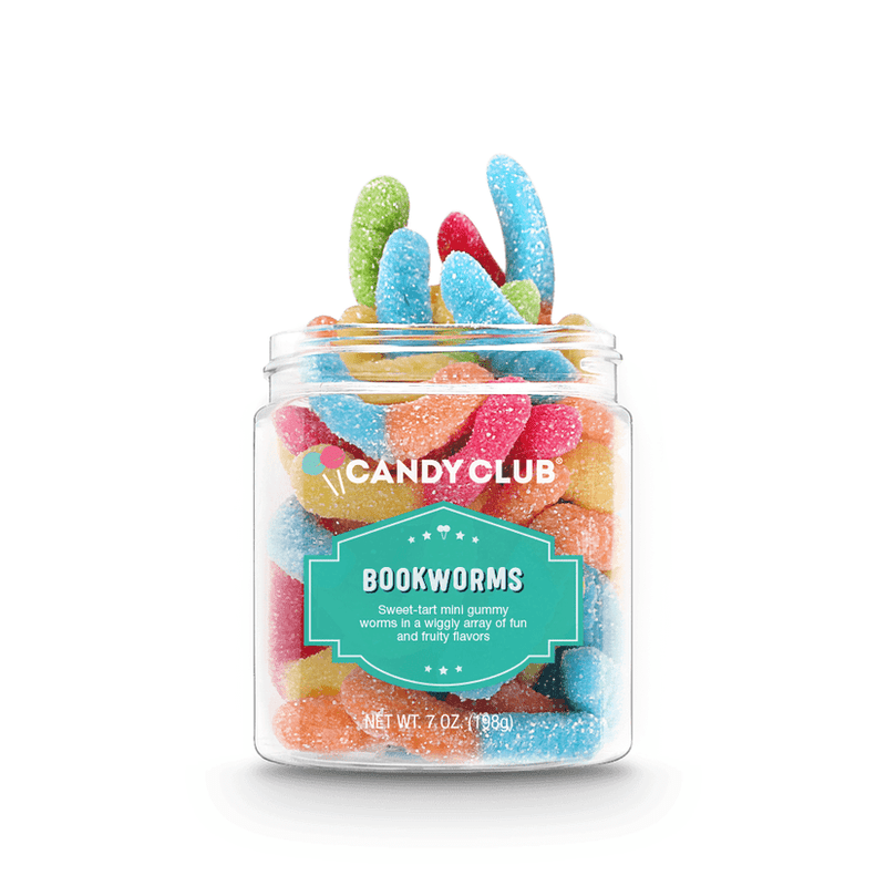 Candy Club Book Worms Gummy Candy
