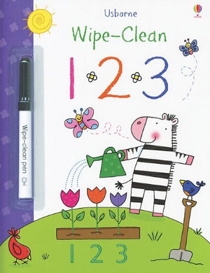 Usborne 123 Wipe Clean Book