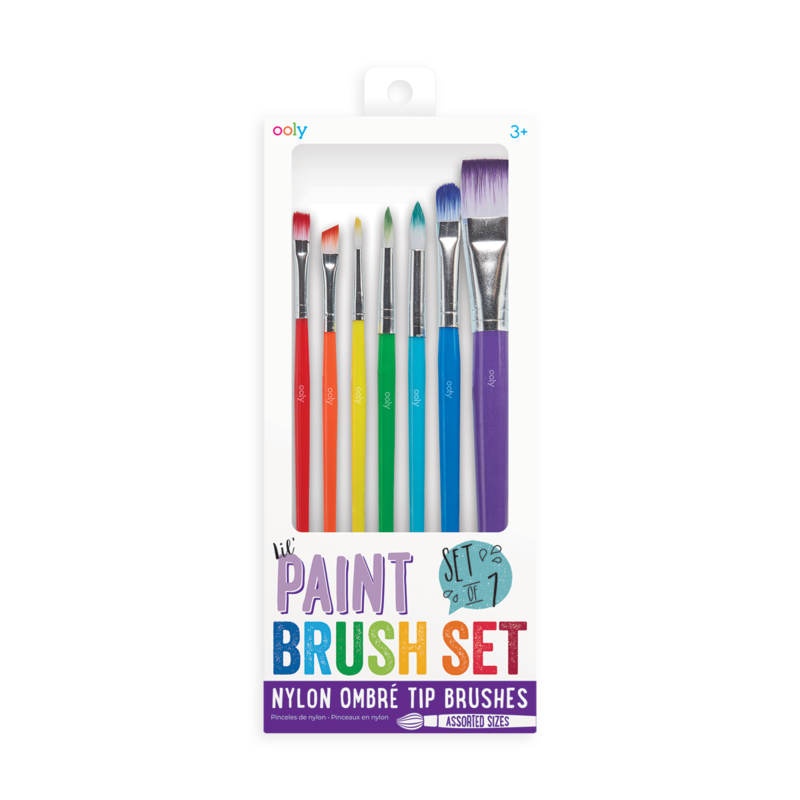 OOLY Lil' Paint Brushes - Set of 7