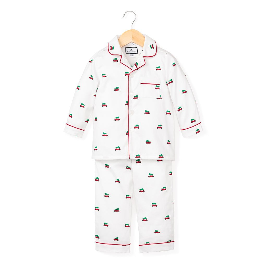 Petite Plume Holiday Journey Children's Pajama Set