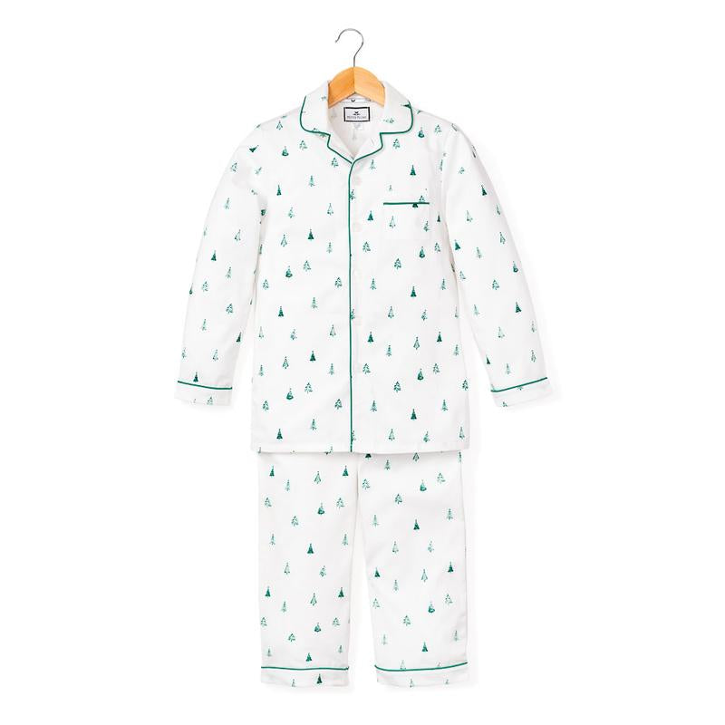 Petite Plume Kids Evergreen Pajama Set