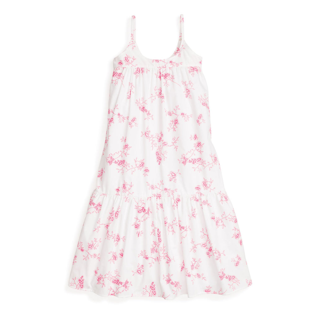 Petite Plume Women's English Rose Floral Chloe Nightgown