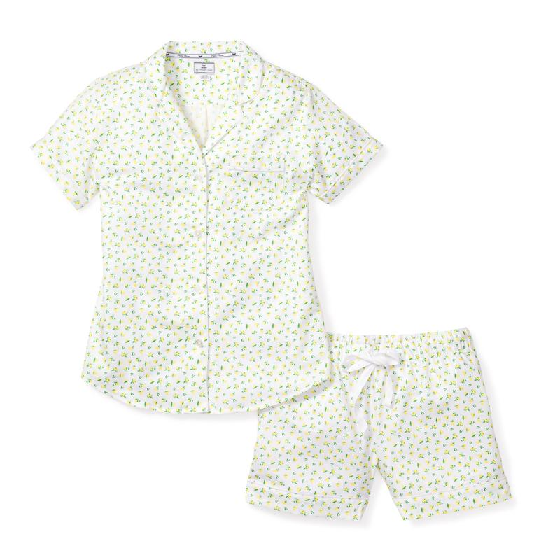 Petite Plume Women's Citron Short Set