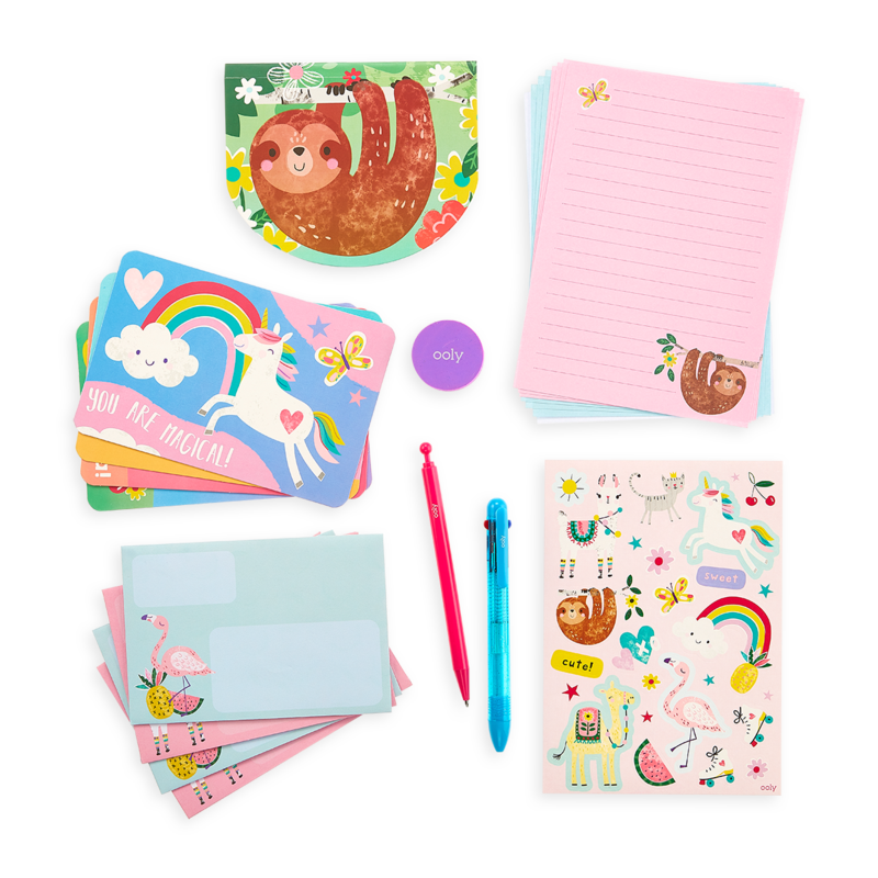 OOLY On-The-Go Stationary Kit - Funtastic Friends