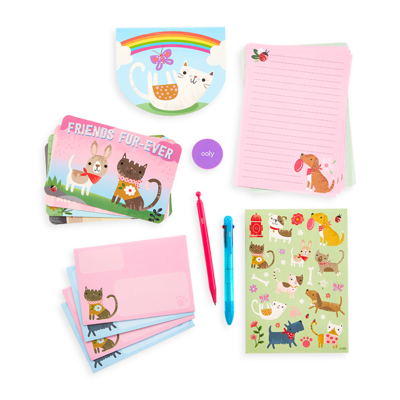 OOLY On-The-Go Stationary Kit - Paw Pals