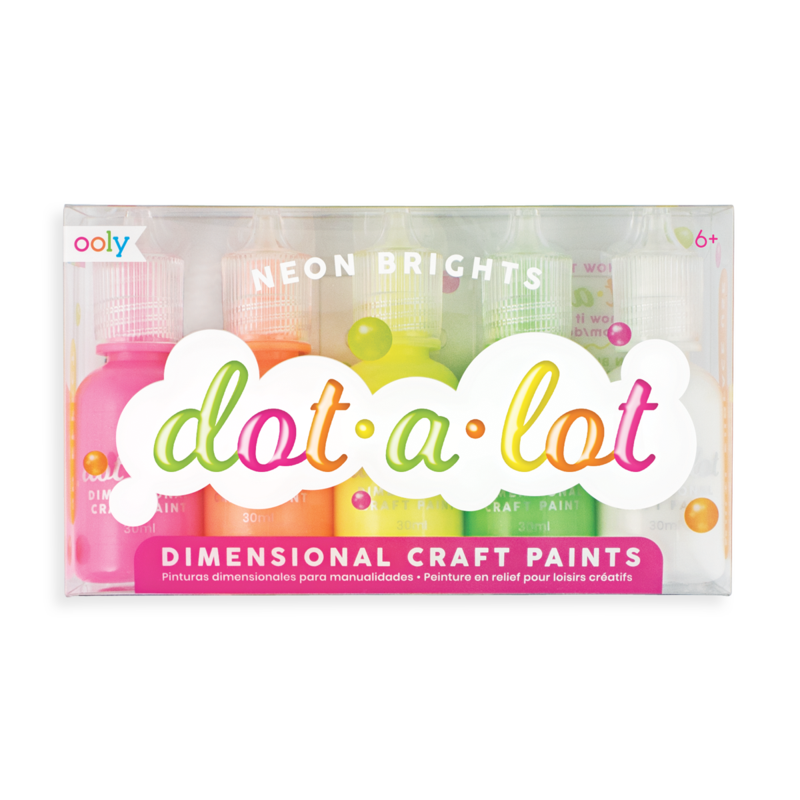 OOLY Dot A Lot Neon Painting Set