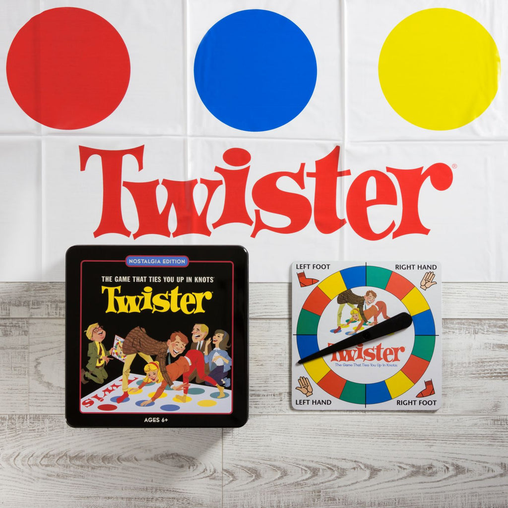 WS Games Twister Nostalgia Tin