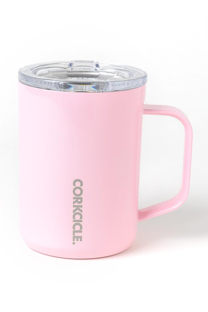 Corkcicle Coffee Mug in Rose Quartz