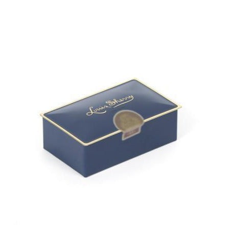 Louis Sherry 2-Piece Box of Chocolates in Ming Blue