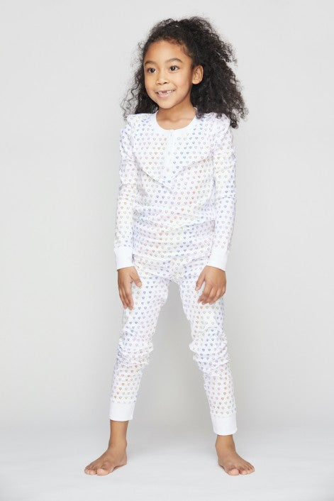 Roller Rabbit Kids Disco Hearts Pajamas