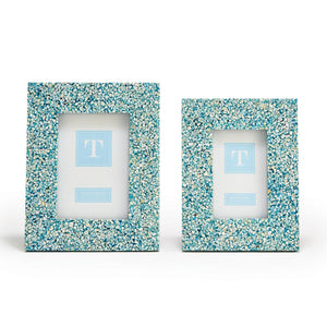 Two's Company Terrazzo Mother of Pearl Frame