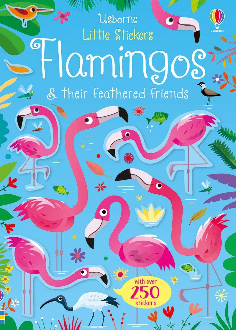 Usborne Little Flamingos Sticker Book