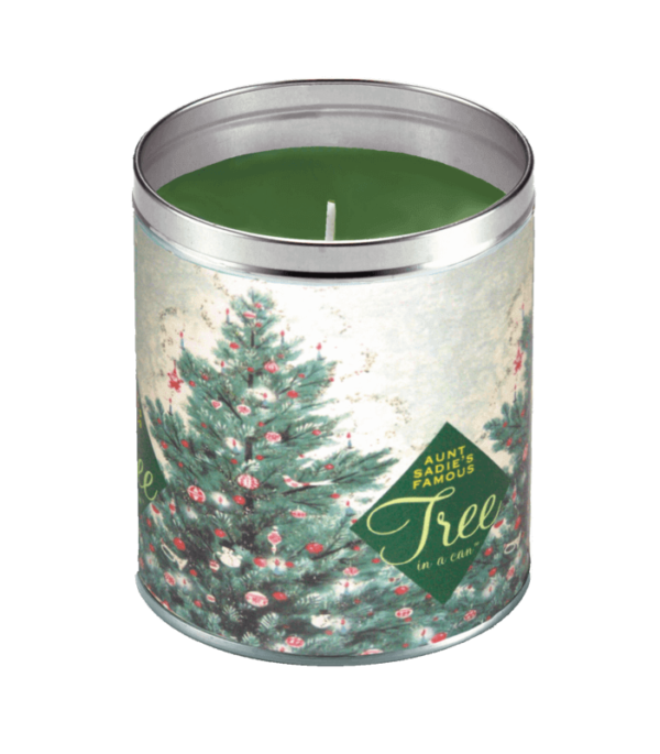 Aunt Sadie's 1940s Tree-in-a-Can Candle