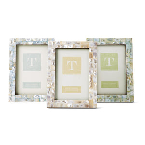 Two's Company Mother of Pearl Pastel Frame