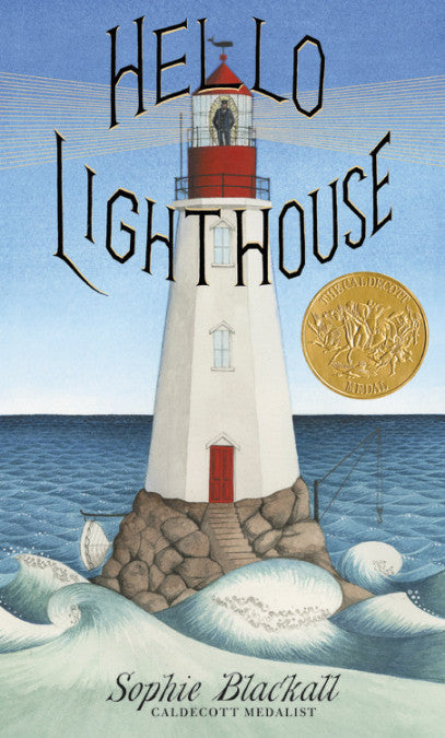Hello Lighthouse Book by Sophie Blackwell