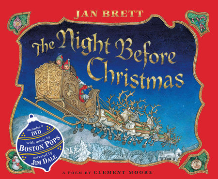 The Night Before Christmas Book by Jan Brett