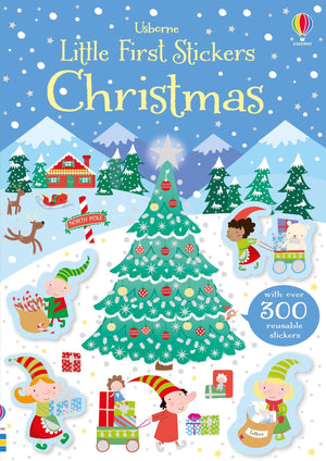 Usborne Little First Sticker Book Christmas
