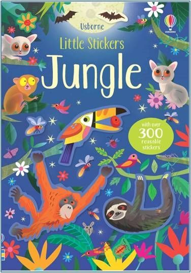 Usborne Little Stickers Jungle Book