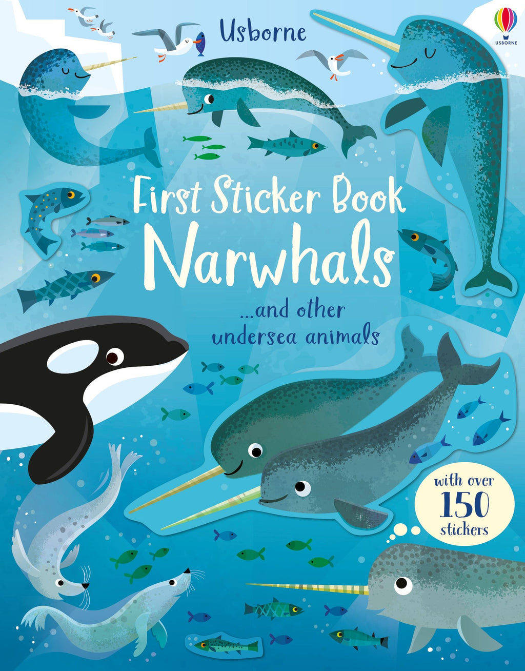Usborne First Sticker Book Narwhals
