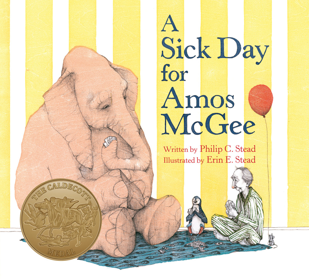 A Sick Day for Amos McGee Board Book by Phillip C. Stead
