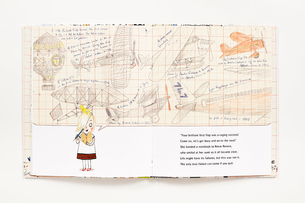 Rosie Revere, Engineer Book by Andrea Beaty