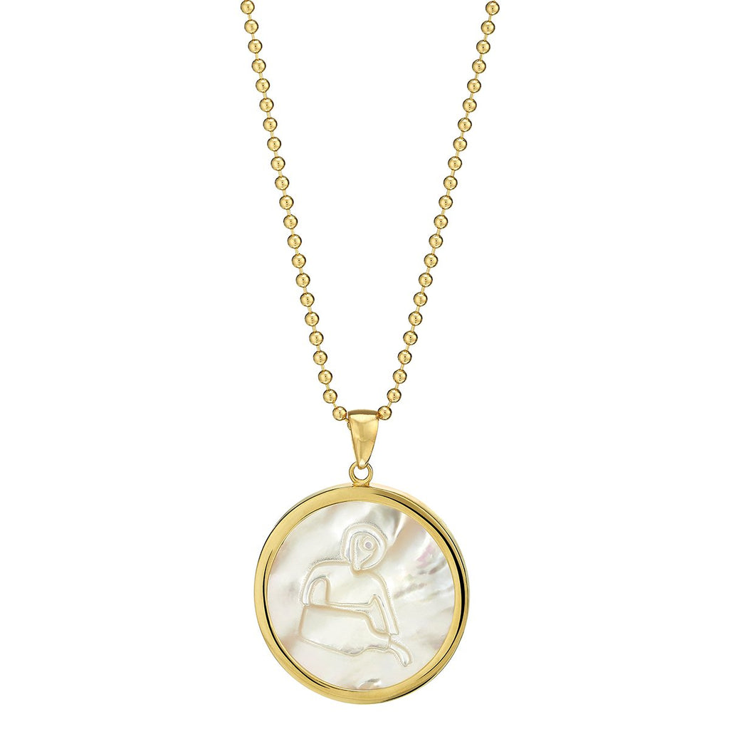 Asha by Ashley McCormick Zodiac Pendant
