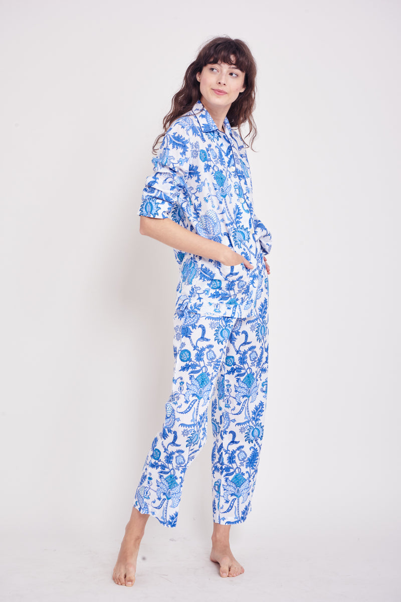 Roller Rabbit Amanda Loungewear Set in Blue