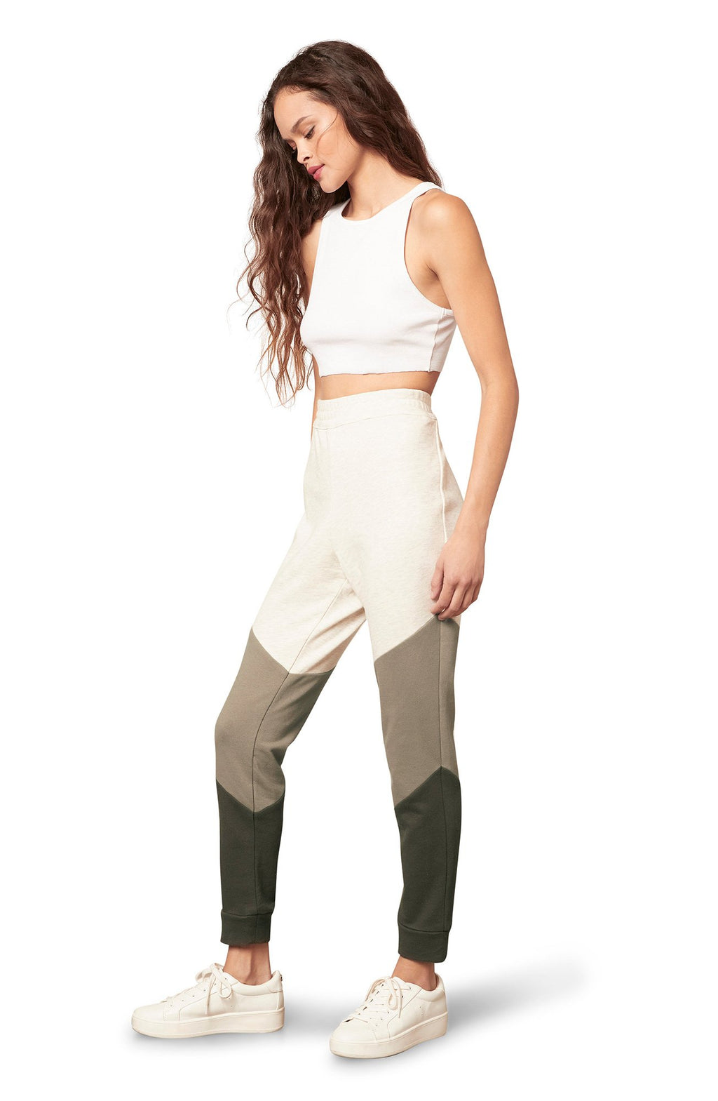 BB Dakota Third Act Jogger in Ivory