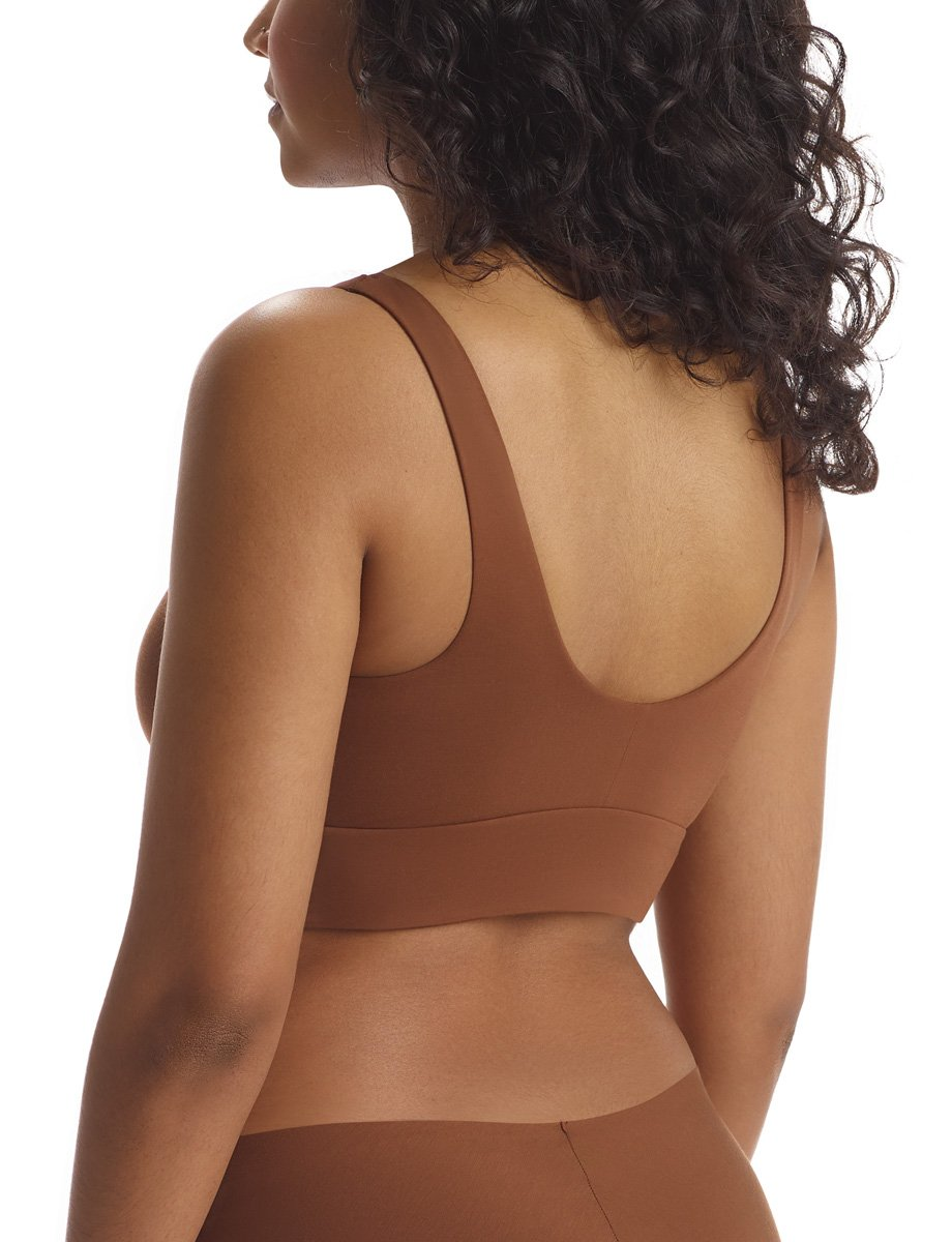 Commando Butter Comfy Bralette in Cinnamon