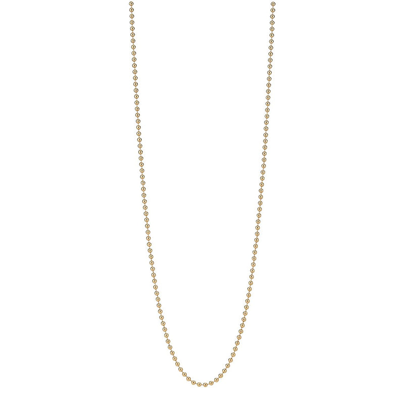 "*Trunk Show* Asha by Ashley McCormick 18"" Vermeil Beaded Chain"