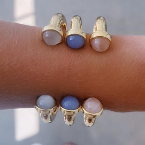 *Trunk Show* Asha by Ashley McCormick Blue Berensen Cuff