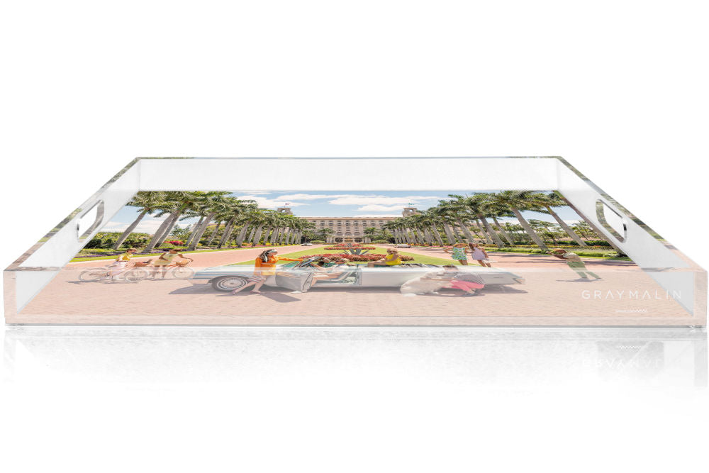 Gray Malin The Breakers Palm Beach Tray