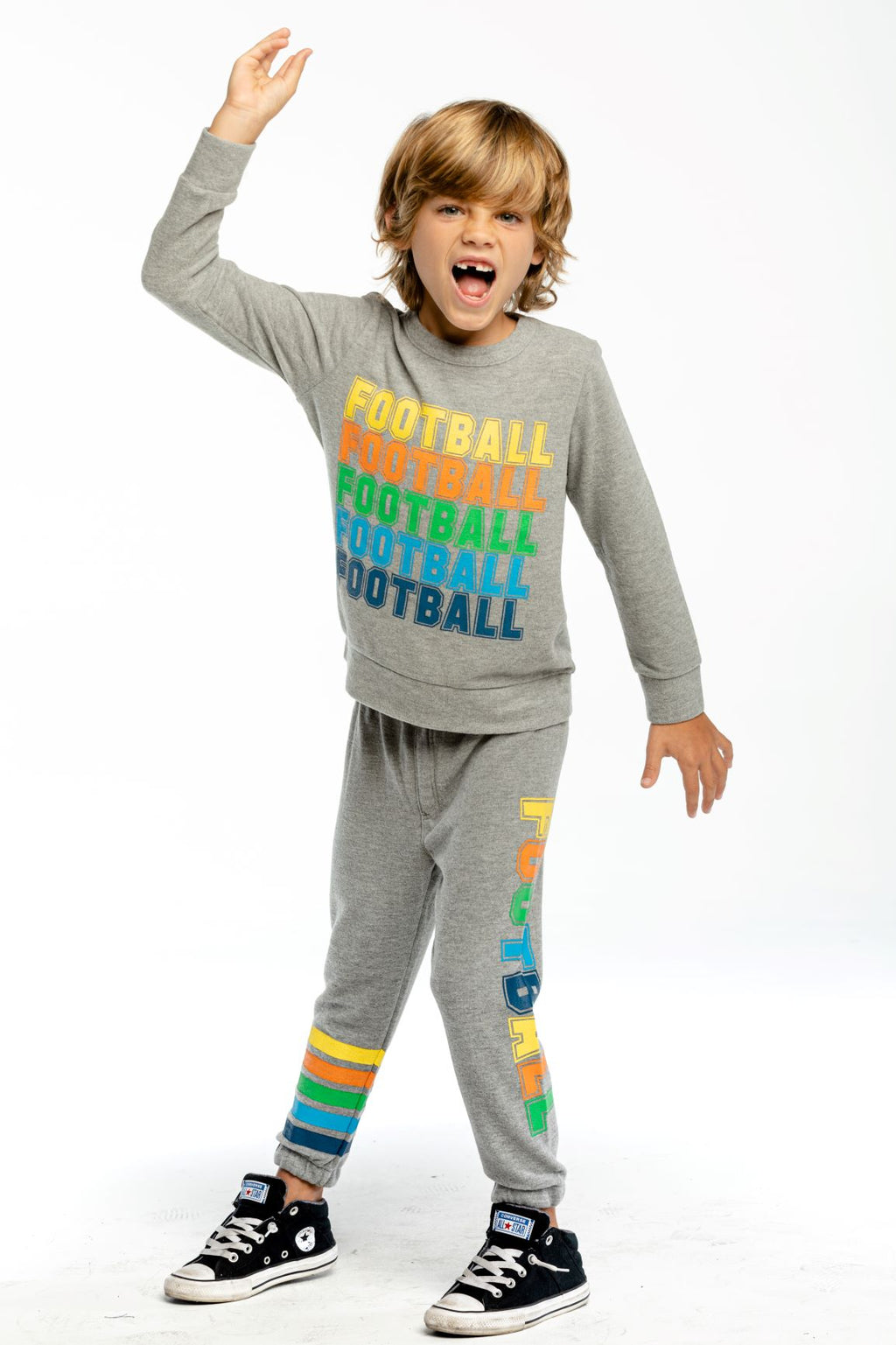 Chaser Kids Football Slouchy Jogger