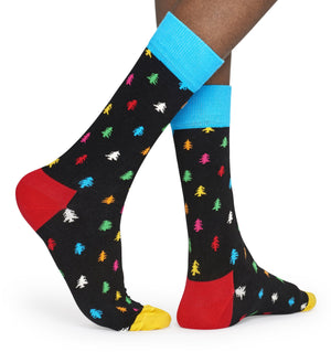 Happy Socks Men's Conifer Tree Socks