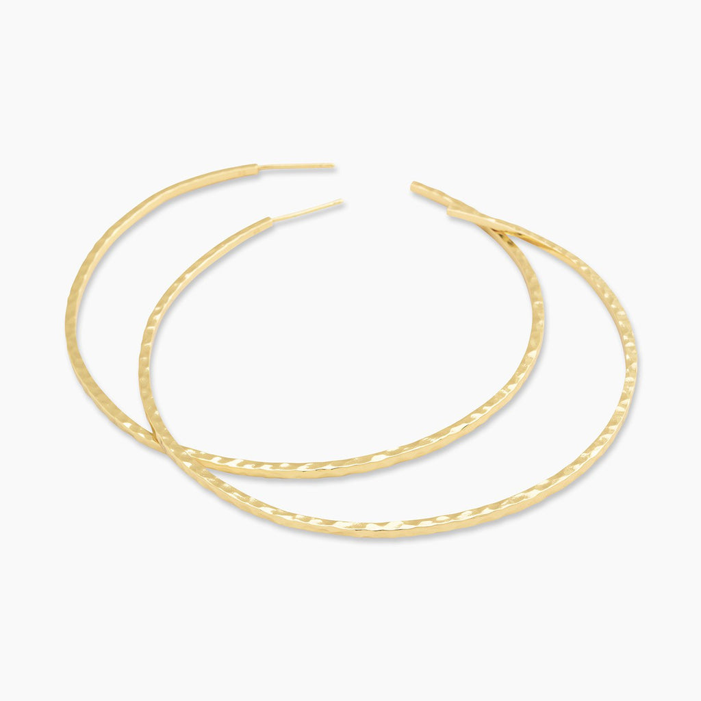 Gorjana Taner XL Hoops in Gold