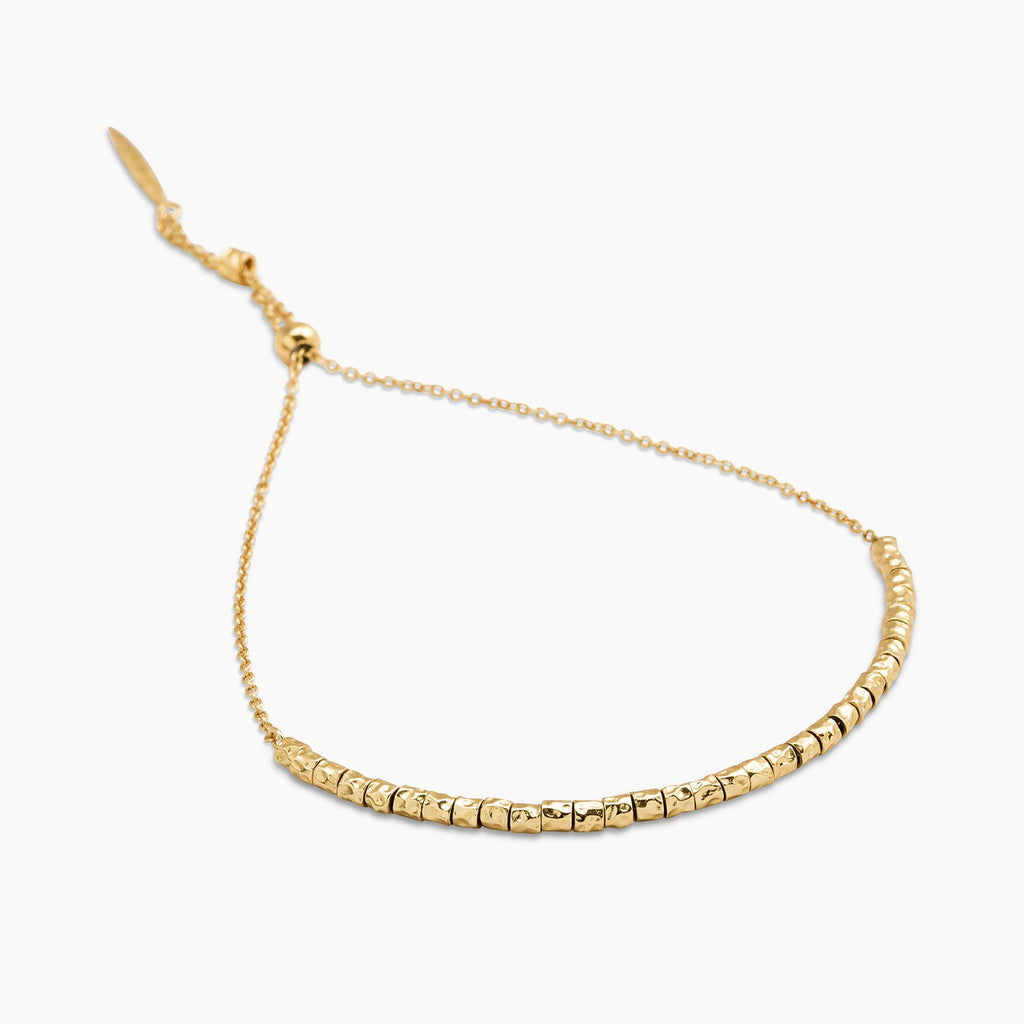 Gorjana Laguna Adjustable Bracelet in Gold