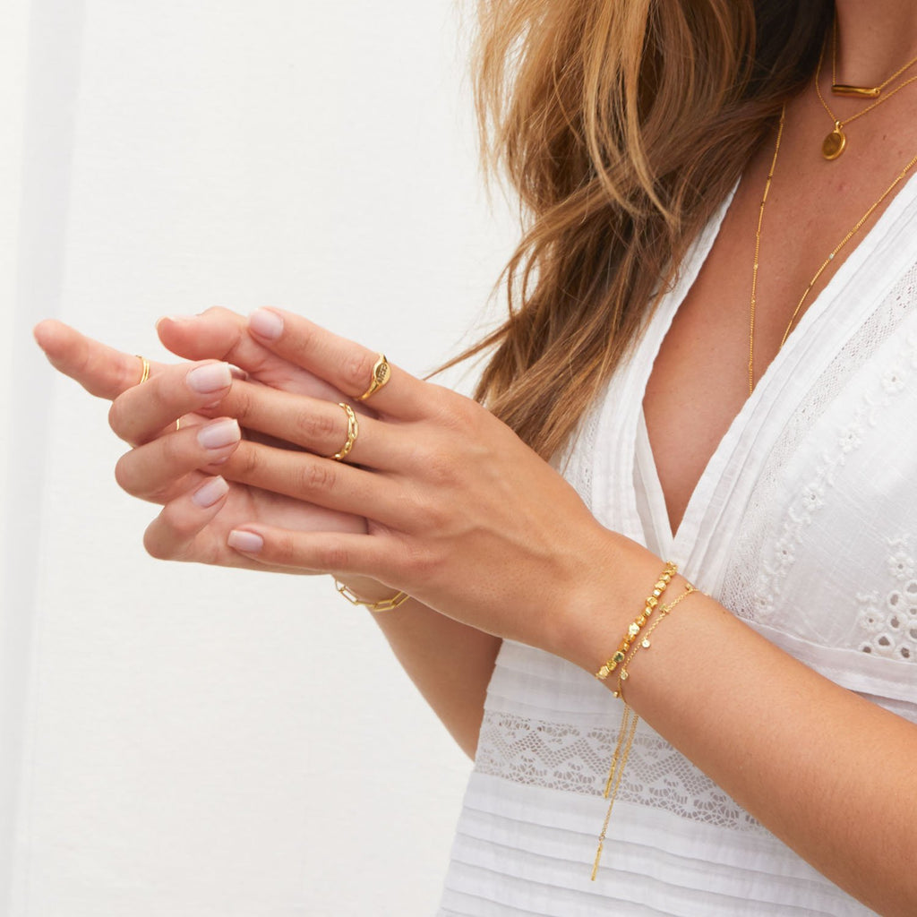 Gorjana Chloe Small Bracelet in Gold
