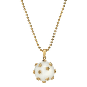 *Trunk Show* Asha by Ashley McCormick Celestial Orb in White Agate