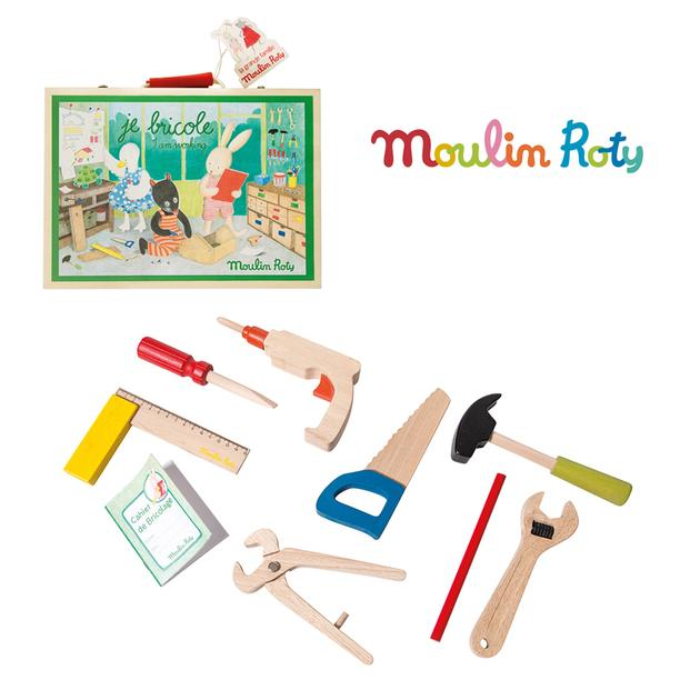 Moulin Roty DIY Wooden Tool Set